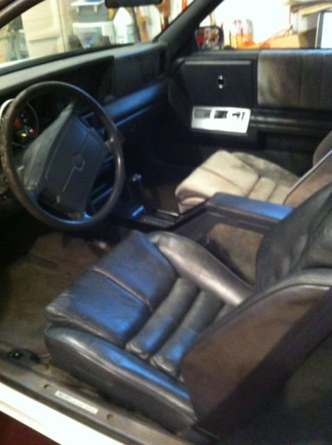 Chrysler Lebaron Coupe 1989 White For Sale 1c3xj41j6kg153149 1989