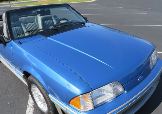 1989 Mustang Blue
