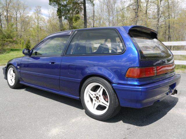 honda civic hatchback 1989 blue for sale 00000000000000000 1989 honda civic sir complete car. Black Bedroom Furniture Sets. Home Design Ideas