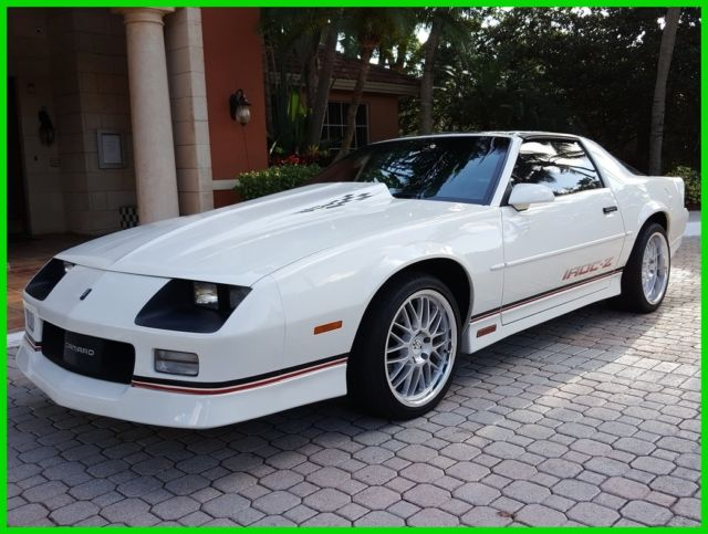 Chevrolet Camaro Coupe 1989 White For Sale ...