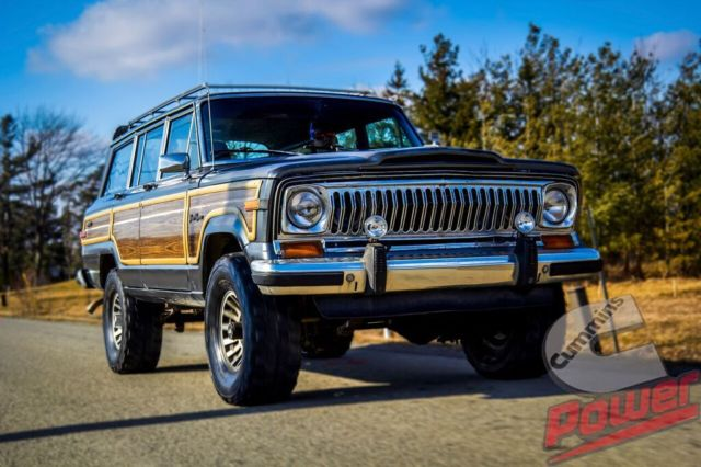 jeep wagoneer wagon 1989 gunmetal grey for sale 1j4gs587xkp106306
