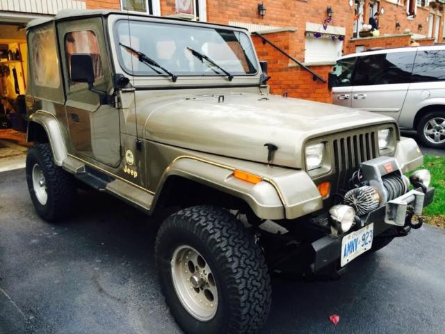 Jeep Wrangler For Sale Ontario >> Jeep Wrangler SUV 1989 For Sale. 2J4FY49T4KJ136494 1989 JEEP WRANGLER SAHARA EDITION