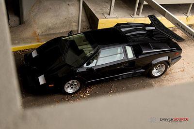 Lamborghini Countach Coupe 1989 Black For Sale. ZA9CA05AXKLA12694 ...