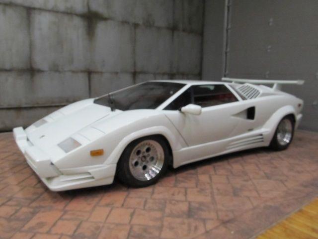 Lamborghini Countach Coupe 1989 White For Sale Za9ca05a9kla12623