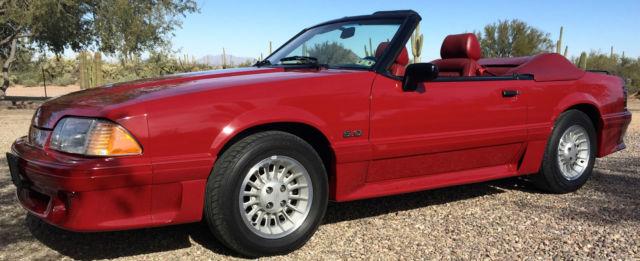 1989 Mustang Gt Engine Specs