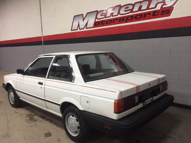 Nissan Sentra -- 1989 White For Sale. JN1GB22S7KU560826 1989 Nissan