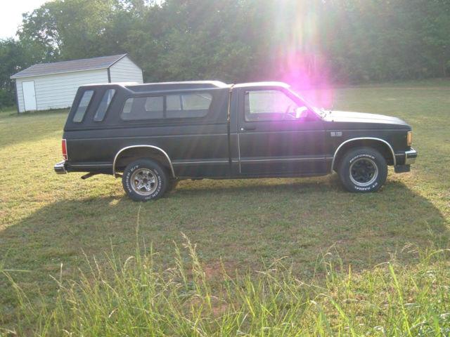 GMC Sierra 1500 Standard Cab Pickup 1989 Black For Sale