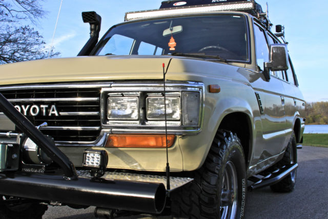 toyota land cruiser suv 1989 beige for sale jt3fj62g7k1109688 1989 toyota land cruiser fj62. Black Bedroom Furniture Sets. Home Design Ideas
