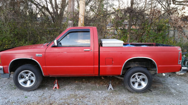 chevrolet s 10 standard cab pickup 1990 red for sale 1gccs14e6l2142011 1990 5 speed chevy s10. Black Bedroom Furniture Sets. Home Design Ideas