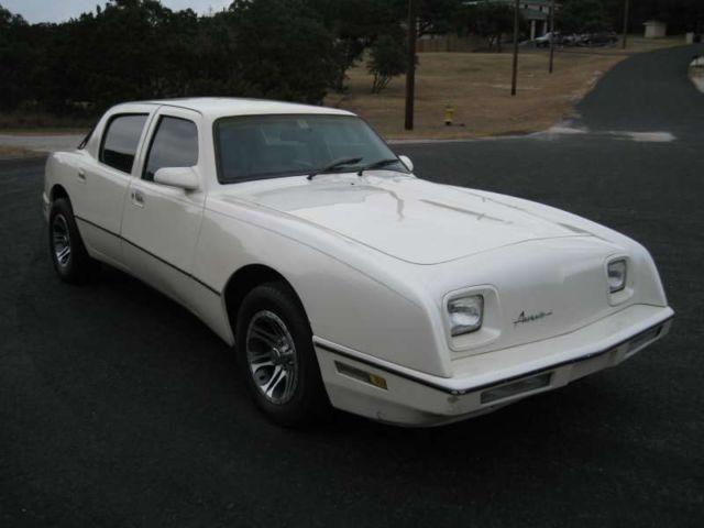 For sale 1990 Other Makes AVANTI AVANTI SEDAN 4 DOOR & Other Makes AVANTI Sedan 1990 White For Sale. 12AAV44A4L1001046 1990 ...