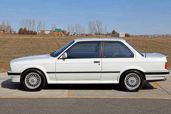 Bmw 3 Series Coupe 1990 Alpine White For Sale