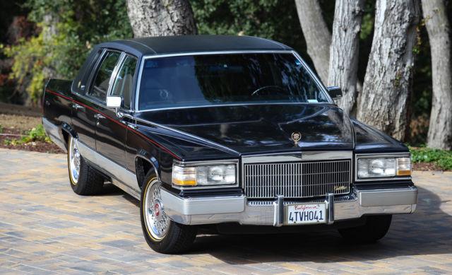 Cadillac Brougham Sedan 1990 Black For Sale ...