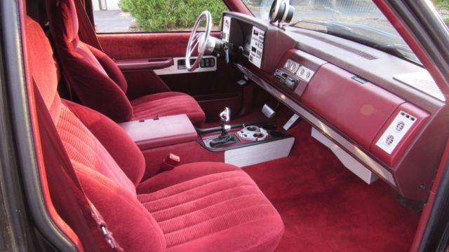 Chevrolet C/K Pickup 1500 Standard Cab Pickup 1990 Black ...