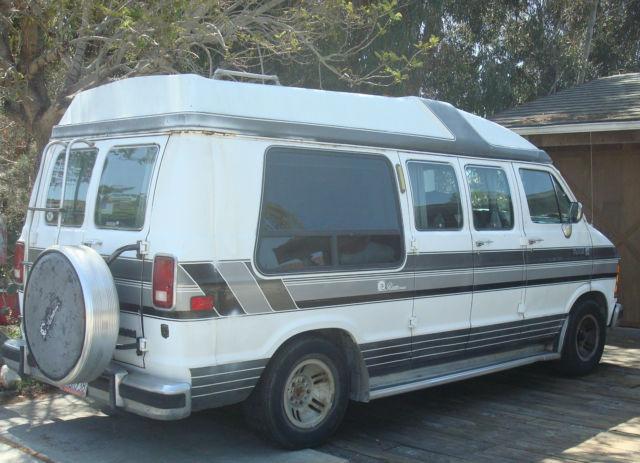 For Sale 1990 Dodge Ram Van