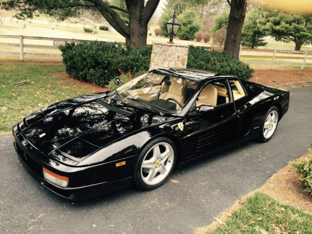 Ferrari Testarossa 1990 Nero For Sale Zffsg17a0l0083539 1990