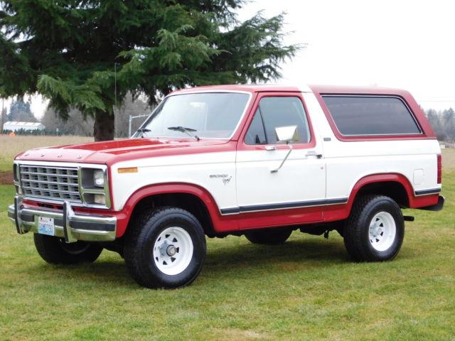 ford bronco convertible 1980 red for sale u15flhj0874 1990 ford bronco xlt 302 v8 automatic. Black Bedroom Furniture Sets. Home Design Ideas