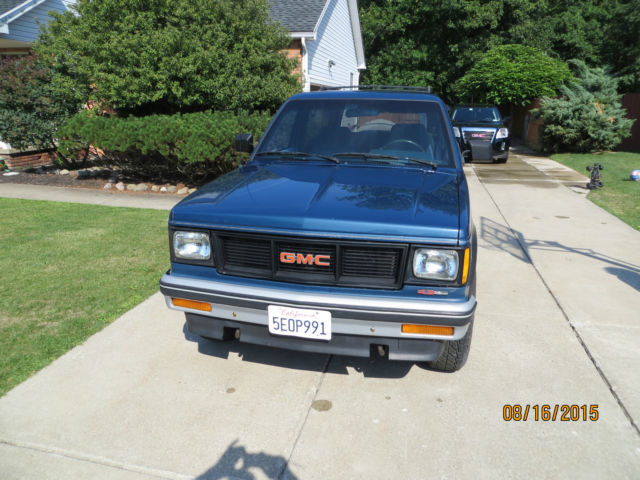 GMC Jimmy SUV 1990 Blue For Sale  1GKCT18Z3L0508274 1990 GMC