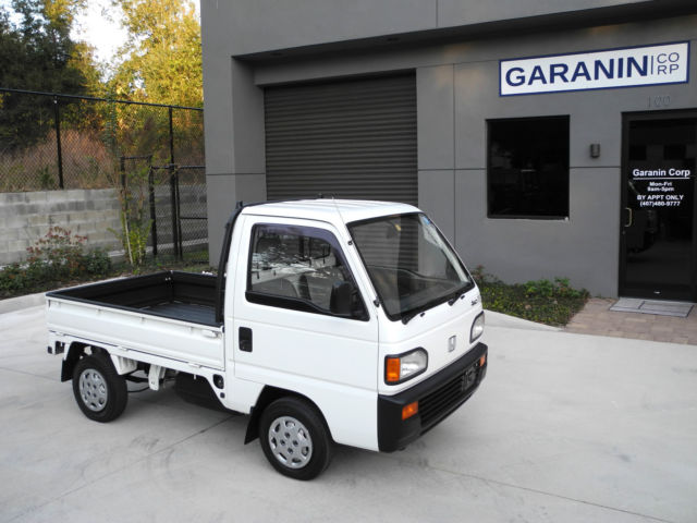 Honda Acty 4WD 660cc STREET LEGAL Kei Mini Pick Up Truck