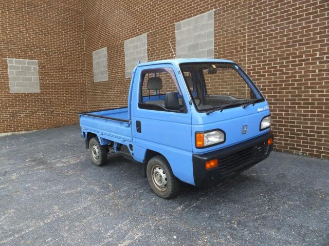 honda other 1990 blue for sale 00000000000000000 1990 honda acty attack 4wd kei truck japan jdm. Black Bedroom Furniture Sets. Home Design Ideas