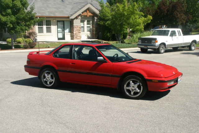 Used Cars Boise >> Honda Prelude Coupe 1990 Red For Sale. JHMBA4142LC019570 ...