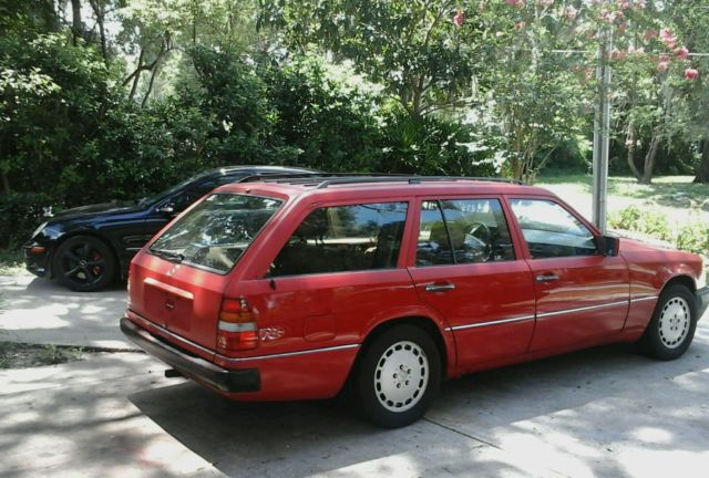 mercedes benz 300 series wagon 19900000 red for sale wdbea90d9lf136962 1990 mercedes benz 300te. Black Bedroom Furniture Sets. Home Design Ideas