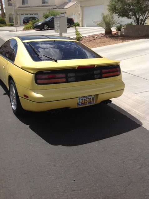 United Nissan Las Vegas >> Nissan 300ZX 1990 Yellow For Sale. jn1cz24a7lx000416 1990 Nissan 300zx T-Top Twin Turbo classic ...