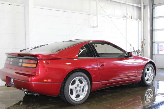 nissan 300zx coupe 1990 maroon for sale jn1cz24a2lx001506 1990 nissan 300zx twin turbo coupe. Black Bedroom Furniture Sets. Home Design Ideas