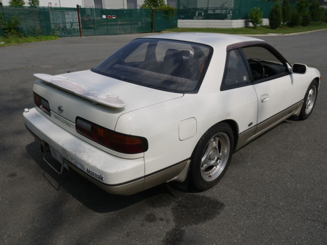 Nissan 240SX Coupe 1989 White For Sale  00000000000000000 1990