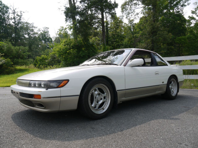 Nissan 240SX Coupe 1989 White For Sale  00000000000000000