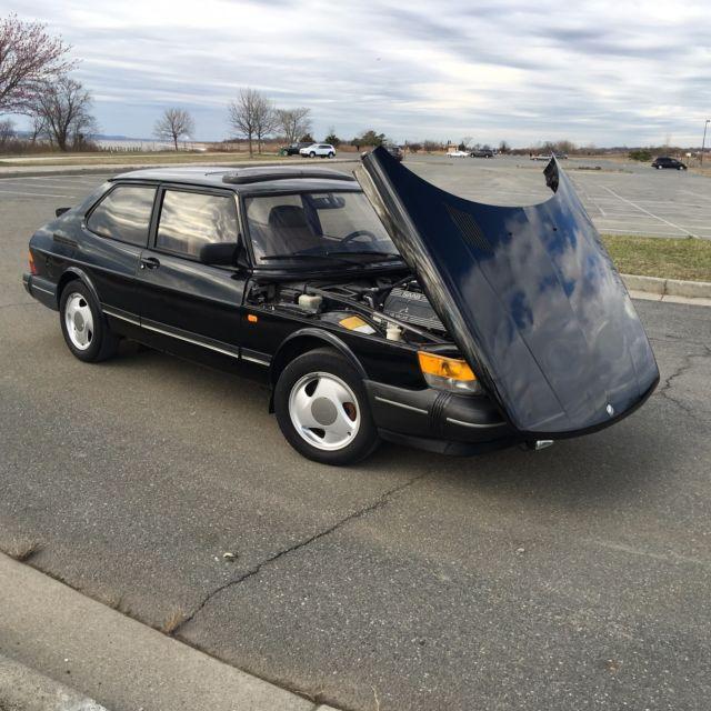 Saab 900 Hatchback 1990 Black For Sale. Ys3al35l6l3002850