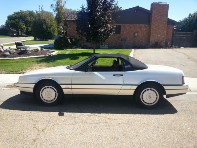Cadillac Allante Convertible 1990 Pearl White For Sale ...