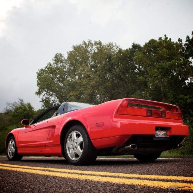 Acura NSX Coupe 1991 Red For Sale. JH4NA1159MT000746 1991