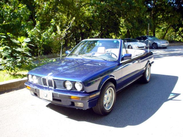 BMW Series Convertible Blue For Sale WBABAMEJ - Bmw 318i 2 door