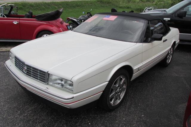 Cadillac Allante Convertible 1991 PEARL WHITE For Sale ...