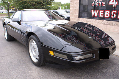 Chevrolet Corvette Hatchback 1991 Black For Sale