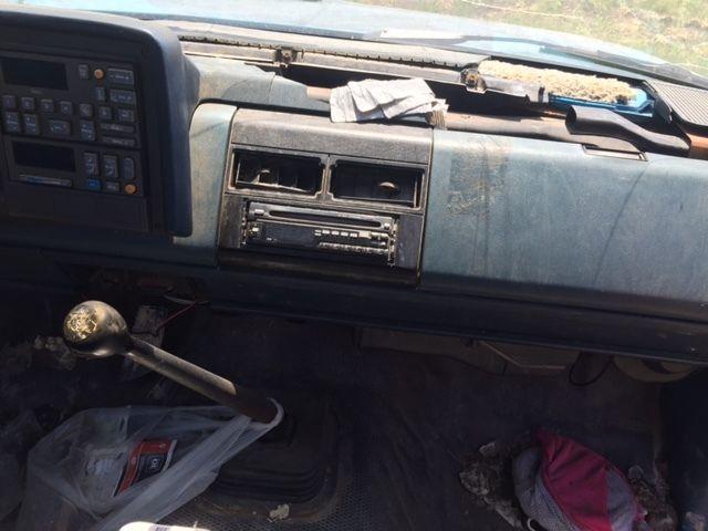 Chevrolet C K Pickup 1500 Standard Cab Pickup 1991 Blue