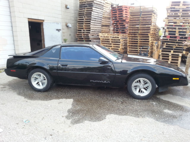 Pontiac Firebird Coupe 1991 Black For Sale 1G2FS23F6ML204214 1991