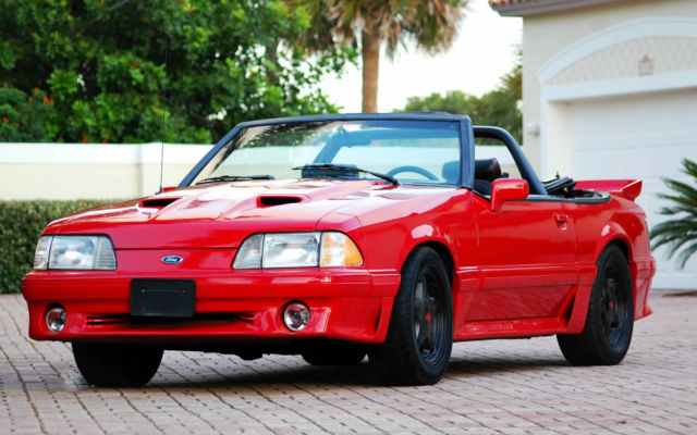 Palm Bay Ford >> Ford Mustang Convertible 1991 For Sale. 1FACP45E8MF147051 1991 FORD MUSTANG GT CONVERTIBLE FOX ...