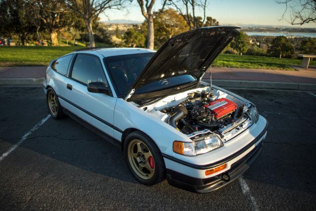 Honda Crx Type R Swap K Tastefully Invested