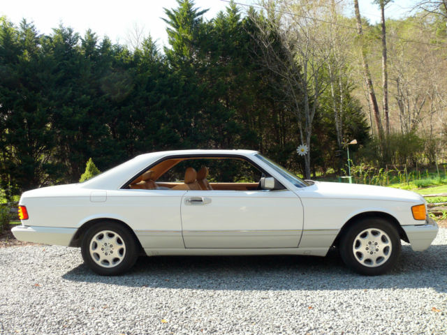 Mercedes-Benz 500-Series Coupe 1991 White For Sale