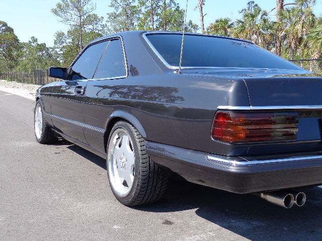 Mercedes benz 500 series coupe 1991 black for sale for Mercedes benz 2 door coupe for sale