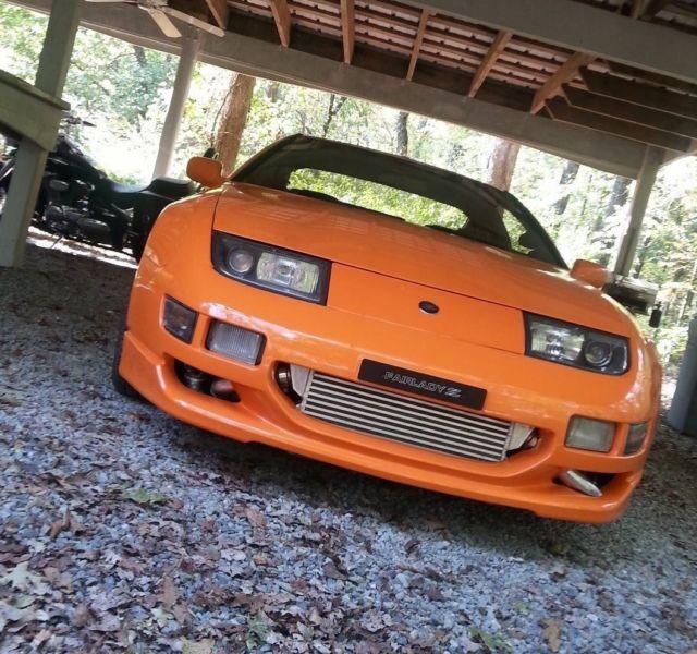 300zx Twin Turbo Motor: Nissan 300ZX 1991 Orange For Sale. JN1RZ24A0MX050456 1991