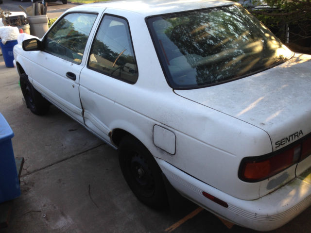 Nissan Sentra Coupe 1991 White For Sale. 1N4GB32A4MC721321 ...