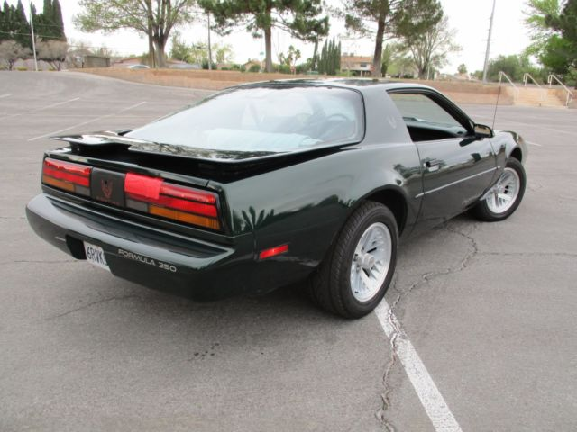pontiac firebird coupe 1991 green for sale. Black Bedroom Furniture Sets. Home Design Ideas
