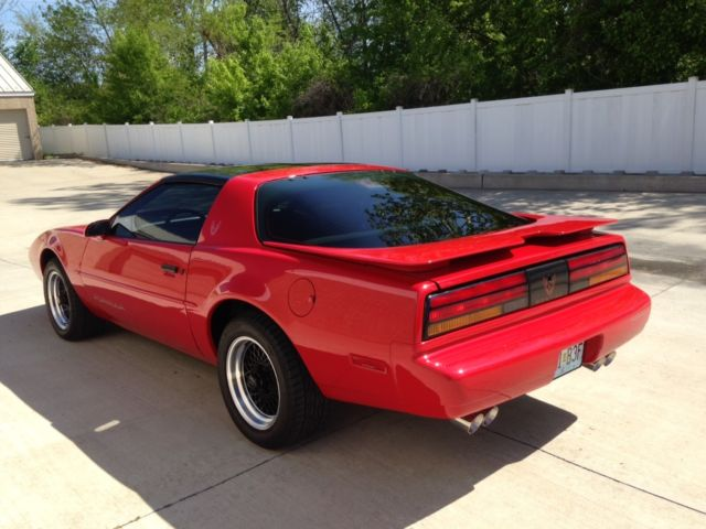 Pontiac Firebird Coupe 1991 Red For Sale ...