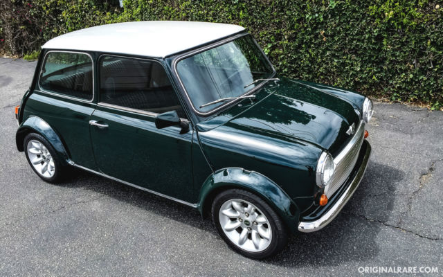 Mini Classic Mini Coupe 1991 Green For Sale 11111111111111111 1991