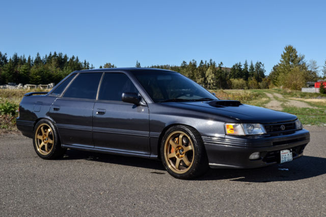 Subaru Legacy Sedan 1991 Gray For Sale. jf2bc67c5mh607748 ...