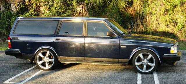 "Volvo 240 Wagon 1991 Blue For Sale. YV1AA8850M1896682 1991 Volvo 240 Station ""Estate"" Wagon ..."