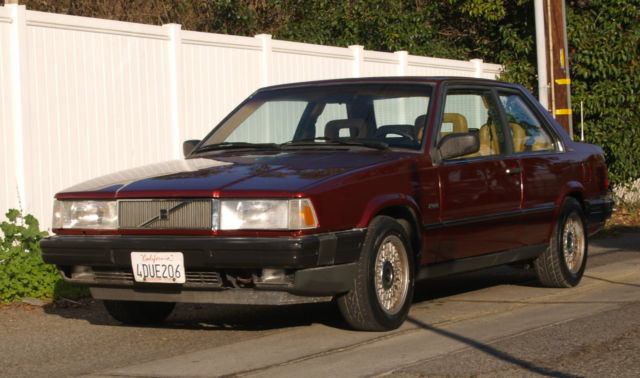 volvo other coupe 1991 burgundy for sale yv1ha8728md011679 1991 volvo 780 bertone turbo low. Black Bedroom Furniture Sets. Home Design Ideas