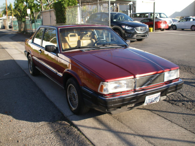 Volvo Other Coupe 1991 Burgundy For Sale. yv1ha8728md011679 1991 Volvo 780 Bertone Turbo Low ...